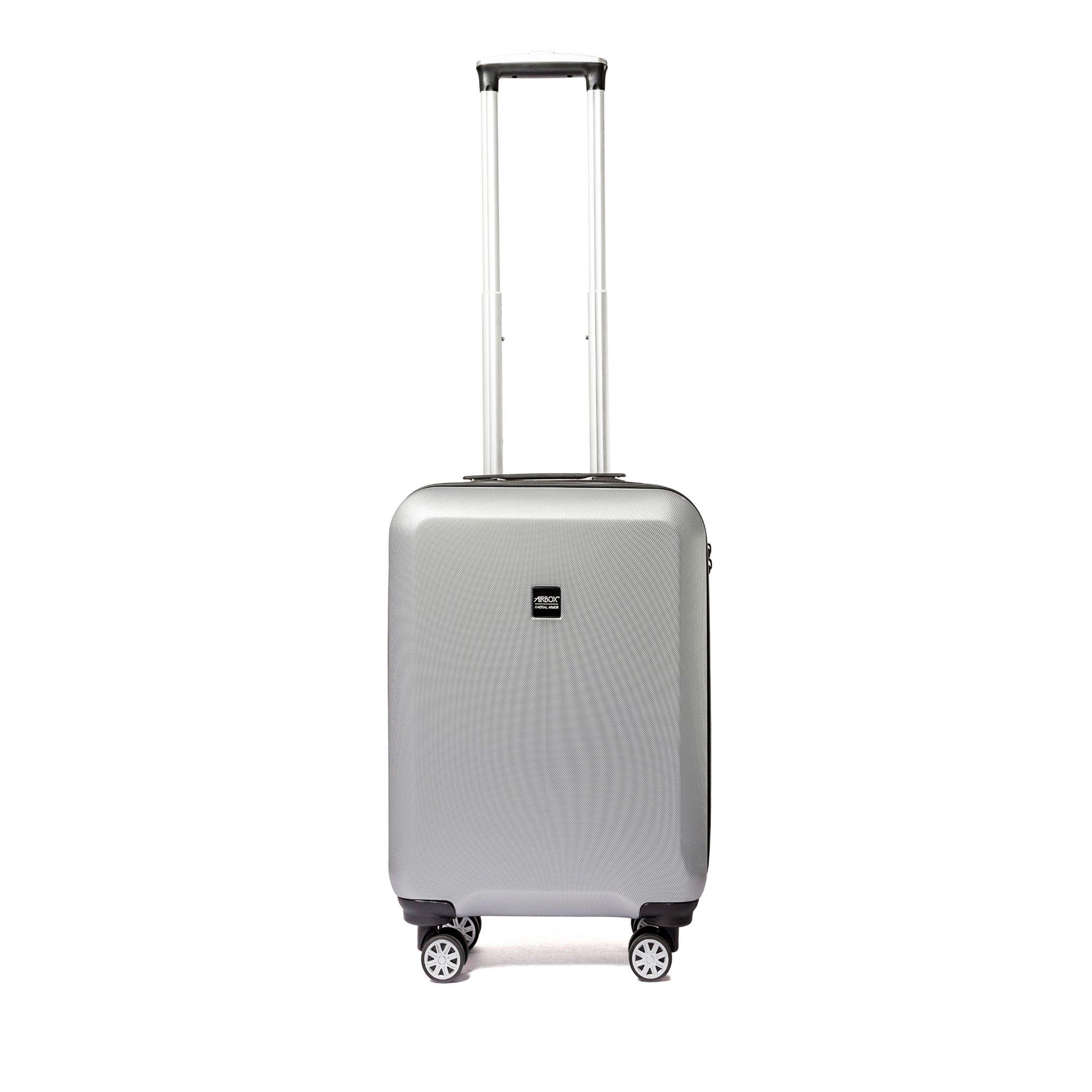 Bilde av Airbox Az8 Hard Koffert Med 4 Hjul, 55/65/75 Cm, Sølv, 55cm