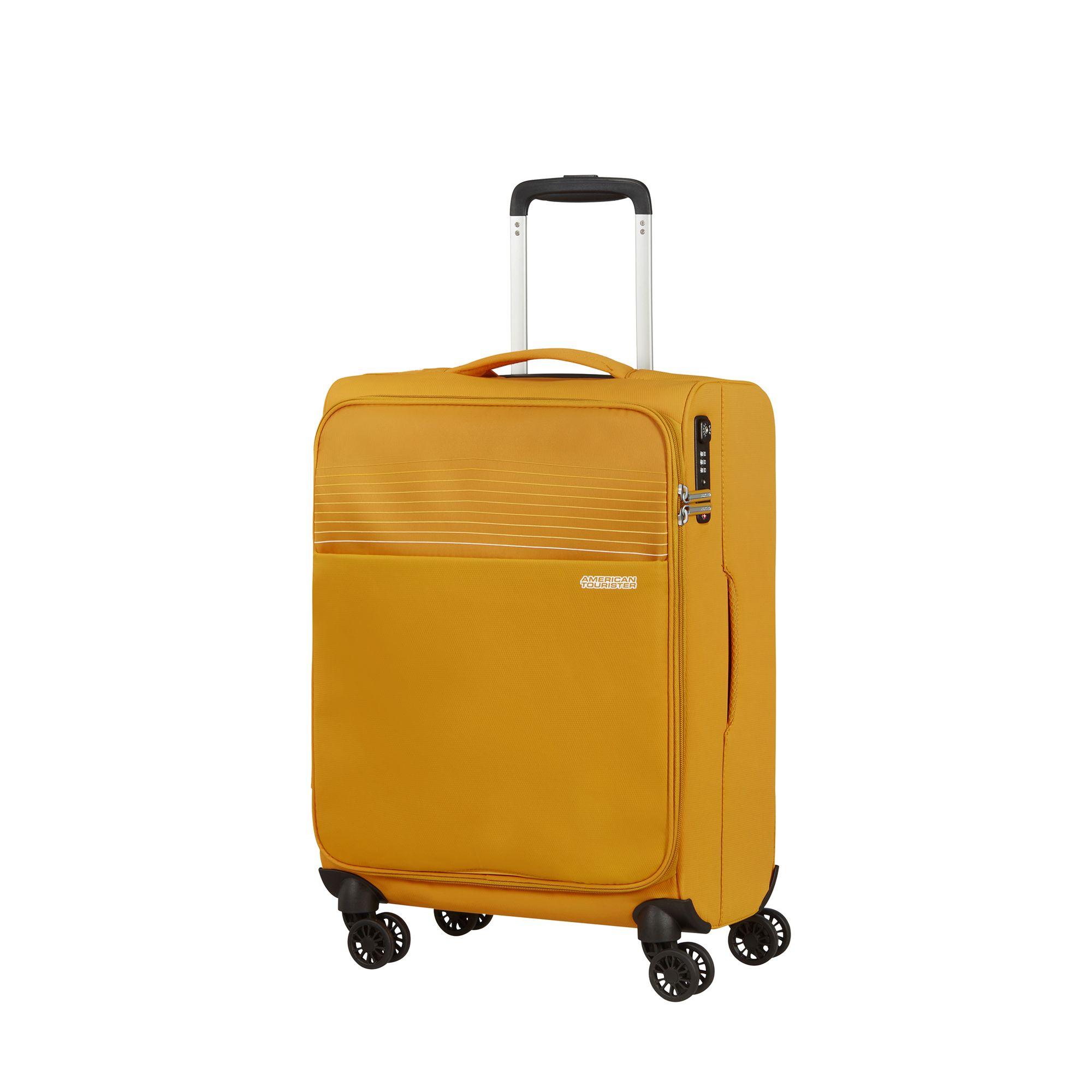 liten kabinväska på hjul